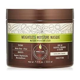 Маска увлажняющая для тонких волос Macadamia Weightless Moisture Masque 222 мл