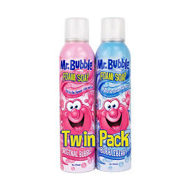 Набор мыло-пена в аэрозоле  Mr. Bubble ORIGINAL FOAM SOAP 480 мл.(2 шт)