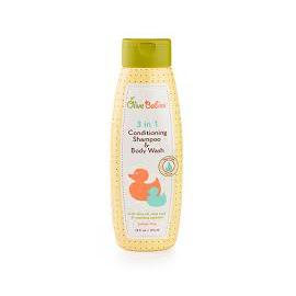 Шампунь детский Olive Babies 3в1 кондиционер, шампунь и гель 414 мл
