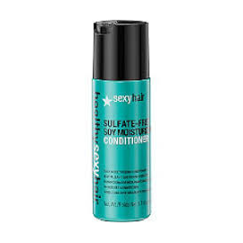 Увлажняющий кондиционер с соевым, кокосовым и аргановым маслами Sexy Hair  Soy Moisturizing Conditioner 50 мл