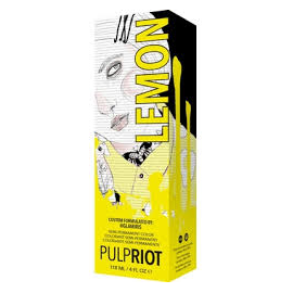 Прямой краситель PULPRIOT LEMON-YELLOW 118 мл