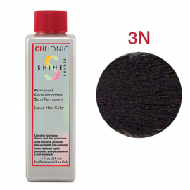 Безаммиачная жидкая краска для волос (Темно-коричневый) - CHI Ionic Shine Shades Liquid Color 3N