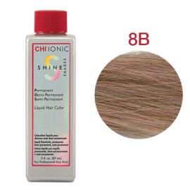 Безаммиачная жидкая краска для волос (Средне бежевый-блондин) - CHI Ionic Shine Shades Liquid Color 8B