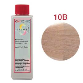 Безаммиачная жидкая краска для волос (Очень светлый бежевый-блондин) - CHI Ionic Shine Shades Liquid Color 10B