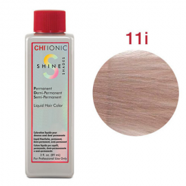 Безаммиачная жидкая краска для волос (Очень светлый радужный блондин плюс) - CHI Ionic Shine Shades Liquid Color 11I