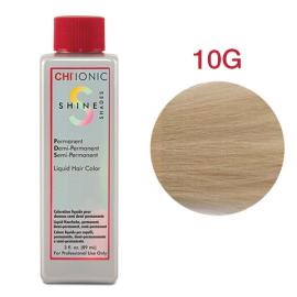 Безаммиачная жидкая краска для волос (Очень светлый золотой блондин) - CHI Ionic Shine Shades Liquid Color 10G