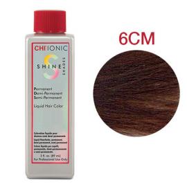 Безаммиачная жидкая краска для волос (Легкий шоколадный мокко коричневый) - CHI Ionic Shine Shades Liquid Color 6CM