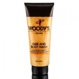 Шампунь мужской и гель для душа Woody's Hair and Body Wash 296 мл