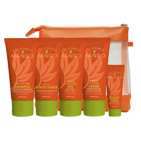Набор д/путешествий для волос и тела Сalifornia Mango 5 шт