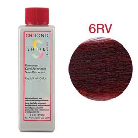 Безаммиачная жидкая краска для волос (Светлый красно-фиолетовый) - CHI Ionic Shine Shades Liquid Color 6RV