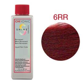 Безаммиачная жидкая краска для волос (Светло-коричневый красный) - CHI Ionic Shine Shades Liquid Color 6RR