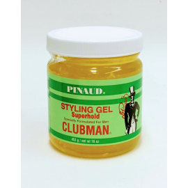 Гель для укладки супер-фиксации Clubman Pinaud Super Hold Styling Gel 453 гр