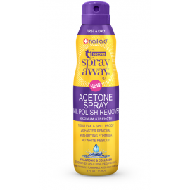 Жидкость для снятия лака в спрее Anise Spray Away Acetone HYALURONIC & COLLAGEN 177  мл