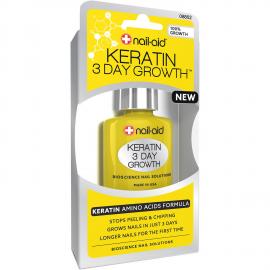 Средство для восстановления ногтей с кератином Anise Keratin 3 Day Growth 15 мл