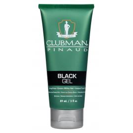 Гель для волос подкрашивающий черный Clubman Temporary Black Gel 89 мл