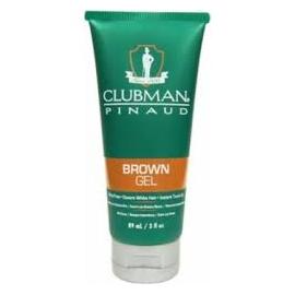 Гель для волос подкрашивающий коричневый Clubman Temporary Brown Gel 89 мл