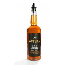 Шампунь мужской,кондиционер и гель для душа Woody's 3-in-1 Shampoo, Conditioner Body Wash 946 мл