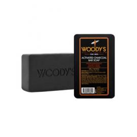 Древесное мыло с активированным углем Woody's Activated Charcoal Bar Soap 227 гр