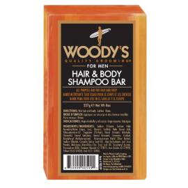 Мыло для волос и тела Woody's Hair and  Body Shampoo Bar 227 гр
