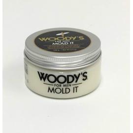 Паста матовая для укладки волос  Woody's Mold It 100 гр