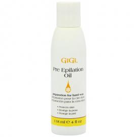 Масло для подготовки кожи к процедуре глубокой эпиляции GIGI Pre Epilation Oil 118 мл