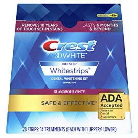 Отбеливающие полоски для зубов Crest Whitestrips 3D Glamorous White