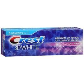 Зубная паста с сильным отбеливающим эффектом Crest 3D White Radiant Mint 100 гр