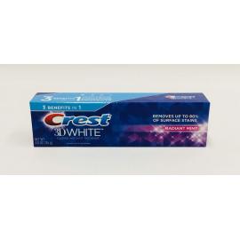 Зубная паста с сильным отбеливающим эффектом Crest 3D White Radiant Mint 136 гр