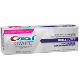Отбеливающая зубная паста Crest 3D White Brilliance 116 гр