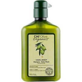Шампунь для волос и тела CHI Olive Organics Hair and Body Shampoo Body Wash 340 мл