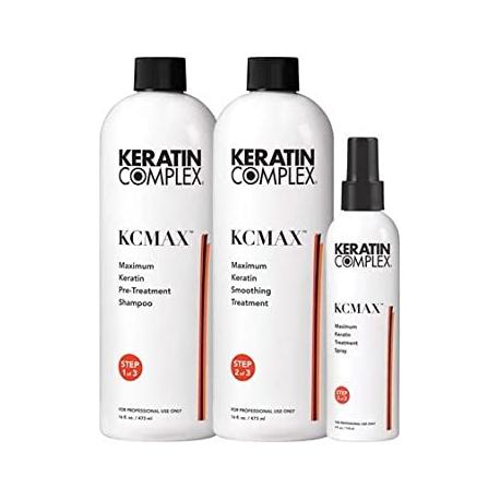 Кератиновая процедура KCMAX Maximum Keratin Smoothing System Keratin Complex