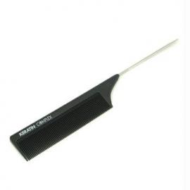 Термостойкая расческа Keratin Complex Heat Resistant Metal Tail Comb