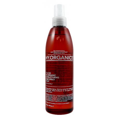 Восстанавливающий спрей для блеска волос My. Organics Restructuring Shine Spray 250 мл