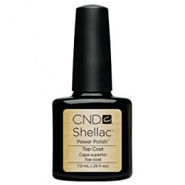 Защитный гель для вскрытия гель лака CND Shellac UV TOP COAT 7.3 мл
