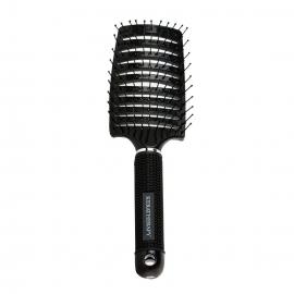 Профессиональная пластиковая расческа для волос  KERATHERAPY Brush Black