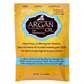 Восстанавливающая маска для волос с Аргановым маслом Hask - 50 мл