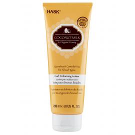 Лосьон для кудрявых волос с кокосовым молоком и мёдом Hask - 235 мл