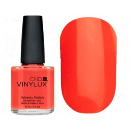 Лак для ногтей CND Vinylux Electric Orange-112  15мл