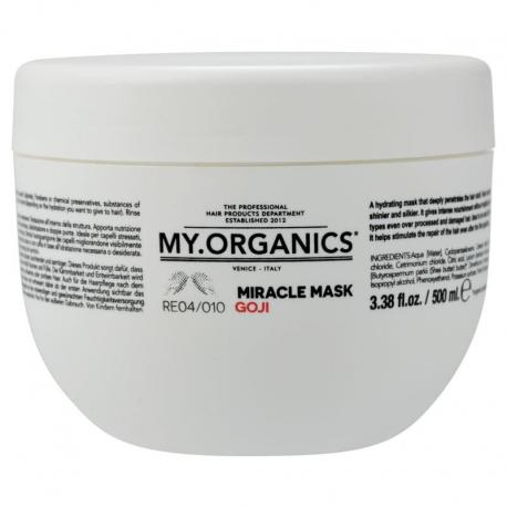Восстанавливающая маска с Ягодами Годжи My.Organics - 500 мл