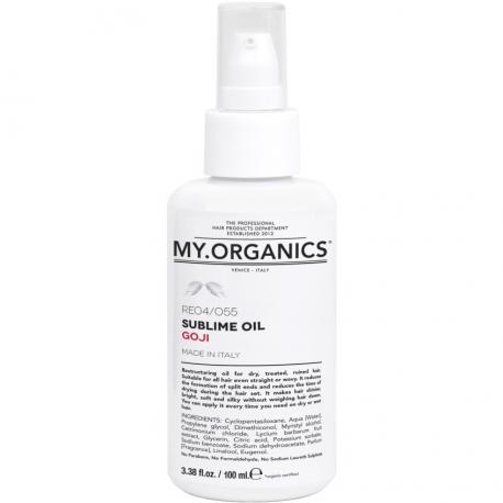 Восстанавливающее масло с Ягодами Годжи My.Organics - 100 мл