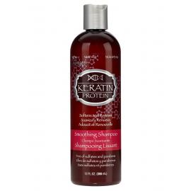 Кератиновый шампунь для разглаживания волос Hask  - 355 мл