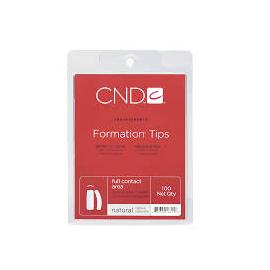Типсы для ногтей CND Natural Formation Tips 100 шт