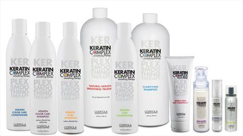 Первая упаковка Keratin Complex