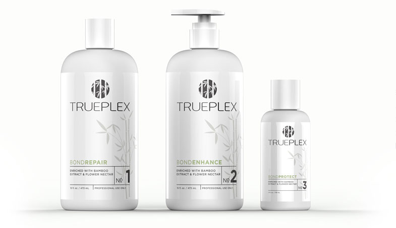 ТРУПЛЕКС профессиональное средство для защиты волос от воздействия химических и термических факторов, используемое во время салонного ухода.